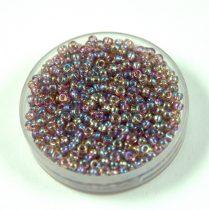 Miyuki kásagyöngy - 256 - Transparent Lavender AB - méret:15/0 - 15g - AKCIOS