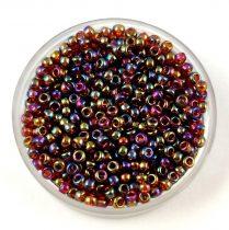 Miyuki Japanese Round Seed Bead - 257 - Transparent Topaz AB - size:11/0