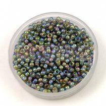 Miyuki Japanese Round Seed Bead - 361 - Chartreuse Lined Olivine AB - size:11/0