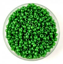 Miyuki kásagyöngy - 431 - Opaque Green Luster - méret:11/0