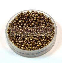 Miyuki kásagyöngy - 457 - Metallic Dark Bronze - méret:11/0 - 30g-AKCIOS
