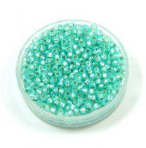Miyuki kásagyöngy - 571 - Silver Lined Mint Green - méret:11/0