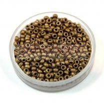 Miyuki Japanese Round Seed Bead - 2006 - Matte Metallic Bronze - size:11/0 - 30g