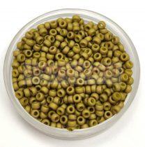 Miyuki kásagyöngy - 2032 - Metallic Matte Olive Green - méret:11/0 - 30g-AKCIOS