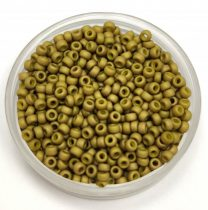 Miyuki kásagyöngy - 2032 - Metallic Matte Olive Green - méret:11/0 - 100g