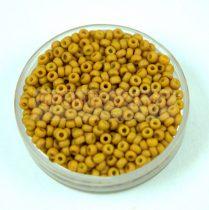 Miyuki japán kásagyöngy - 2312 - Matte Opaque Honey Mustard - méret: 11/0 - 30g - AKCIOS