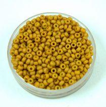 Miyuki japán kásagyöngy - 2312 - Matte Opaque Honey Mustard - méret: 11/0