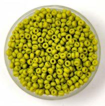 Miyuki japán kásagyöngy - 2316 - Matte Opaque Lime - méret: 15/0