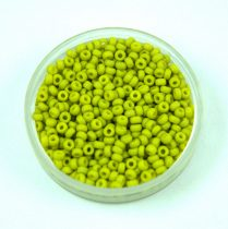 Miyuki japán kásagyöngy - 2316 - Matte Opaque Lime - méret: 15/0 - 15g - AKCIOS