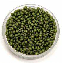 Miyuki japán kásagyöngy - 2318 - Matte Opaque Olive - méret: 11/0