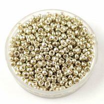 Miyuki kásagyöngy - 4201 - Galvanized Silver Duracoat - méret:11/0