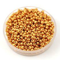 Miyuki  kásagyöngy - 4203 - Duracoat Galvanized Gold - méret:11/0 - 30g