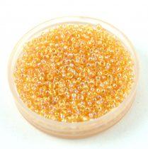 Miyuki kásagyöngy - 251 - Rainbow Light Amber - méret:15/0