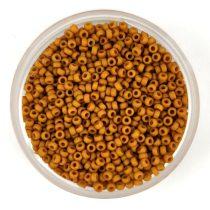 Miyuki japán kásagyöngy - 2312 - Matte Opaque Honey Mustard - méret: 15/0 - 15g - AKCIOS