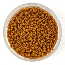 Miyuki japán kásagyöngy - 2312 - Matte Opaque Honey Mustard - méret: 15/0