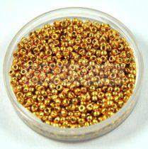 Miyuki kásagyöngy - 4202 - Duracoat Galvanized Gold - méret:15/0 - 15g-AKCIOS