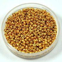 Miyuki kásagyöngy - 4202 - Duracoat Galvanized Gold - méret:15/0