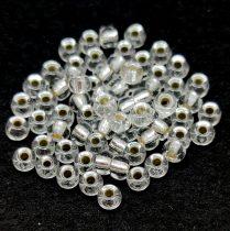 Miyuki kásagyöngy - 131s - Silver Lined Crystal - 6/0