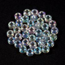 Miyuki Japanese Round Seed Bead - 250 - Crystal AB - size: 6/0