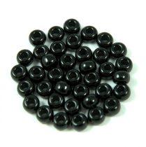 Miyuki kásagyöngy - 401 - opaque black - 6/0