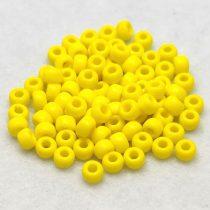 Miyuki kásagyöngy - 404 - Opaque Yellow - 6/0