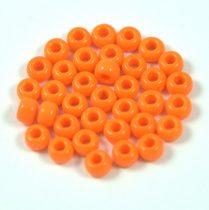 Miyuki kásagyöngy - 405 - opaque pumpkin - 6/0