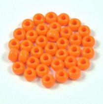 Miyuki Japanese Round Seed Bead - 405 - Opaque Pumpkin - size: 6/0