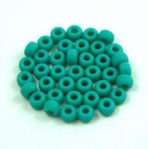 Miyuki kásagyöngy - 412f - Matte Rainbow Turquoise Green - 6/0