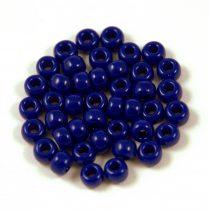 Miyuki Japanese Round Seed Bead - 414 - Opaque Cobalt - size: 6/0