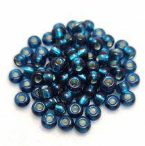 Miyuki kásagyöngy - 1425 - Silver Lined Blue Zircon - 6/0