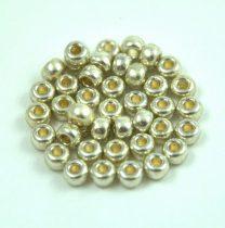 Miyuki Japanese Round Seed Bead - 4201 - Duracoat Galvanized Silver - size:6/0