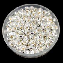 Miyuki kásagyöngy - 1 - Silver Lined Crystal - méret:8/0