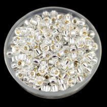 Miyuki Japanese Round Seed Bead - 1 - Silver Lined Crystal - size:8/0
