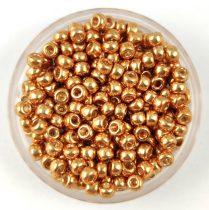 Miyuki kásagyöngy - 182 - Galvanized Gold - méret:8/0