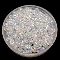 Miyuki Japanese Round Seed Bead - 250 - Rainbow Crystal - size:8/0