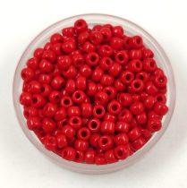 Miyuki kásagyöngy - 408 - Opaque Red - méret:8/0