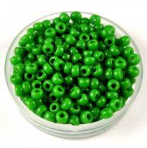 Miyuki kásagyöngy - 411 - Opaque Green - méret:8/0