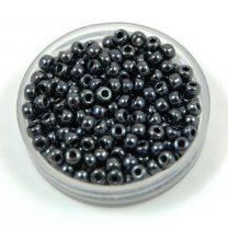 Miyuki Japanese Round Seed Bead - 451 - Gunmetal - size:8/0