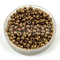Miyuki kásagyöngy - 457 - Bronze - méret:8/0 - 30g - AKCIOS