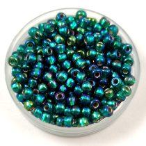 Miyuki kásagyöngy - 1017 - Silver Lined Emerald AB - méret:8/0 - 30g - AKCIOS
