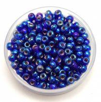Miyuki Japanese Round Seed Bead - 1020 - Silver Lined Cobalt AB- size:8/0