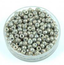 Miyuki Japanese Round Seed Bead - 1865 - Galvanised Gray Luster- size:8/0