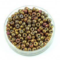 Miyuki Japanese Round Seed Bead - 1966 - Metallic Earth Batik Luster - size:8/0
