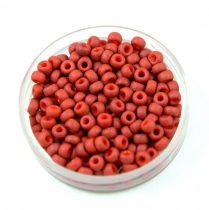 Miyuki Japanese Round Seed Bead - 2315 - Opaque Matte Terra Cotta - size:8/0