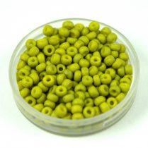 Miyuki Japanese Round Seed Bead - 2316 - Opaque Matte Lime - size:8/0 - 30g