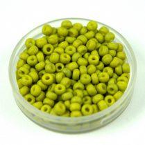 Miyuki Japanese Round Seed Bead - 2316 - Opaque Matte Lime - size:8/0