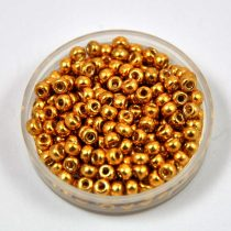 Miyuki kásagyöngy - 4202 - Duracoat Galvanized Gold - méret:8/0