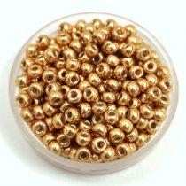 Miyuki Japanese Round Seed Bead - 4202 - Duracoat Galvanized Gold - size:8/0
