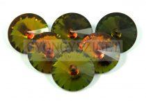 Matubo  rivoli - topaz vitrail - 16mm