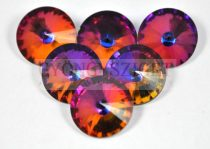 Matubo  rivoli - crystal vulcano - 12mm